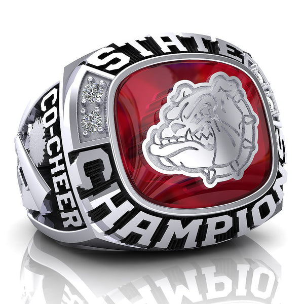 Oak Hills Cheer Ring - Design 4.2 - Varsity State - BALANCE