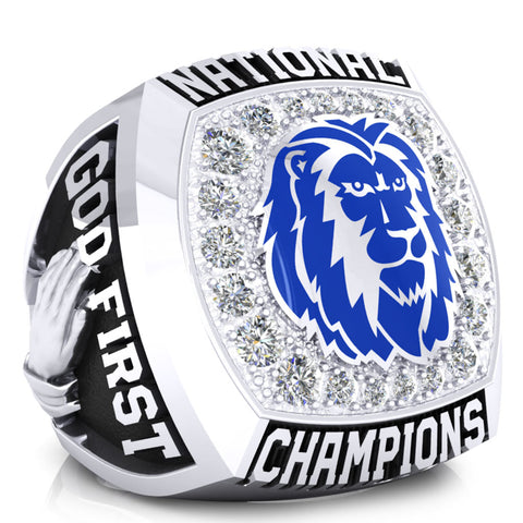 Oakwood Ambassadors Mens Basketball Ring - Design 1.5