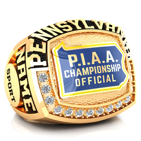 PIAA - Officials Ring - Design 2.3A