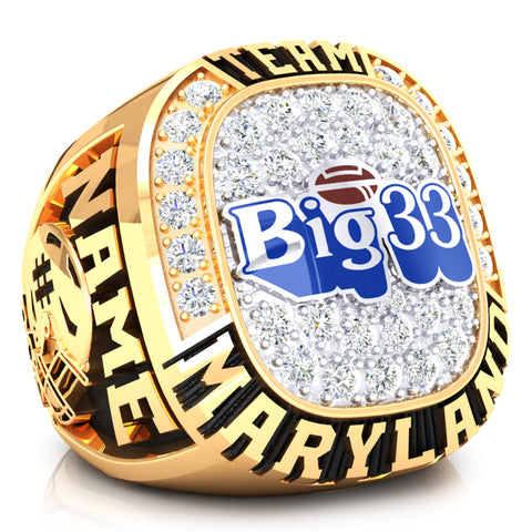PSFCA - Big 33 Ring - Team Maryland - Design 4.1C- Durilium Two-Tone