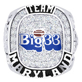 PSFCA - Big 33 Ring - Team Maryland - Design 4.1D - Durilium *DEPOSIT