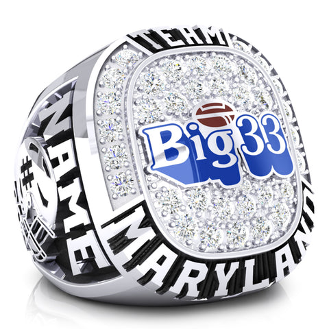 PSFCA - Big 33 Ring - Team Maryland - Design 4.1D - Durilium