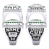 Pine Richland Rams Hockey Ring - Design 2.4