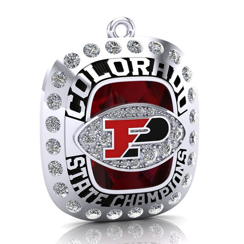 Pomona Football Pendant