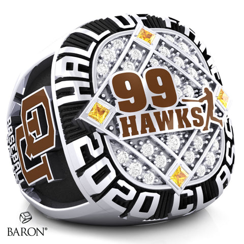 Quincy University Championship Ring - Design 1.4