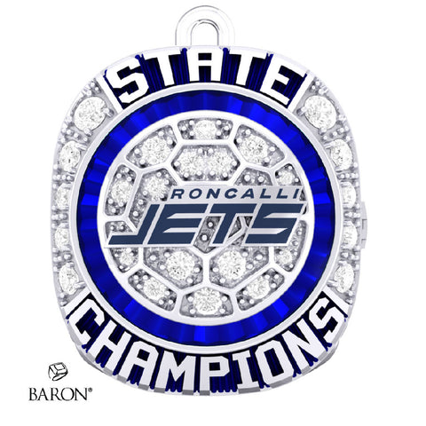 Roncalli Jets Championship Ring Top Pendant - Design 5.5