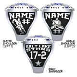 Salt lake Stars Ring -Design 2.6