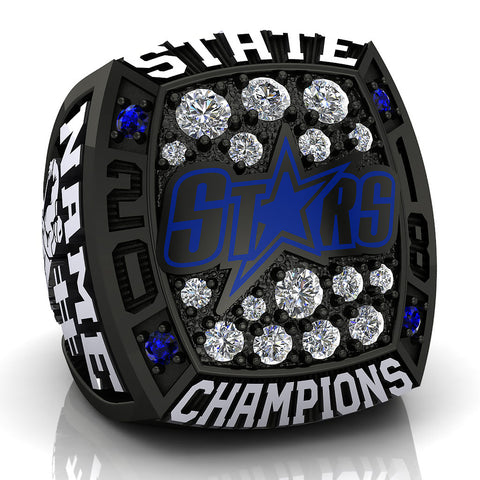 Salt lake Stars Ring -Design 2.7