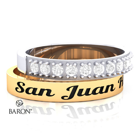 San Juan Hills Stackable Class Ring Set - 3152