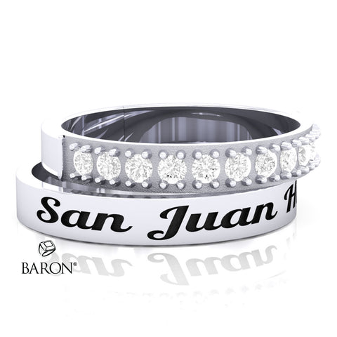 San Juan Hills Stackable Class Ring Set - 3153