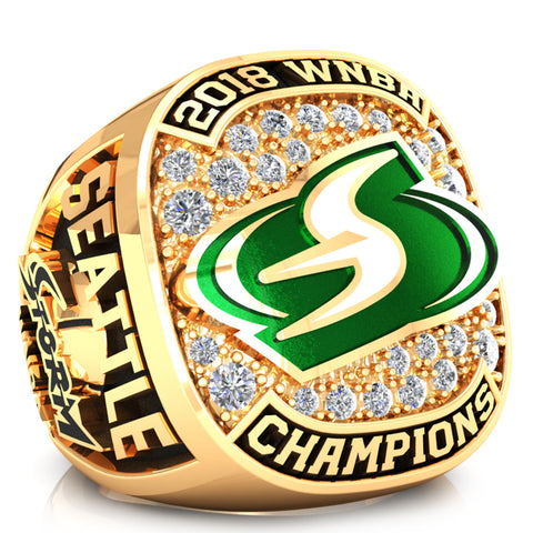 Seattle Storm Fan Ring - Design 2.2