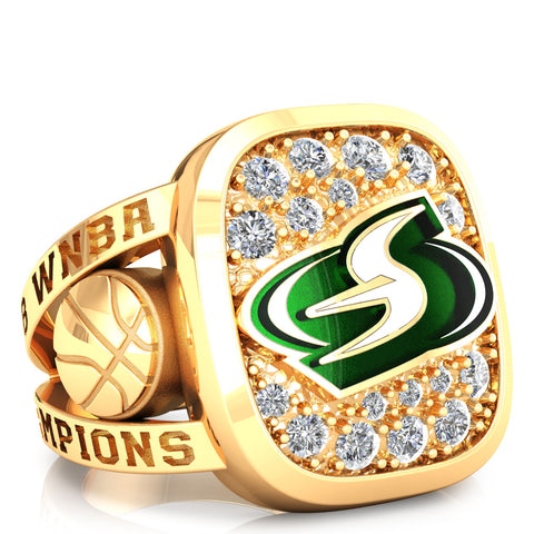 Seattle Storm Renown Ring - Design 1.5