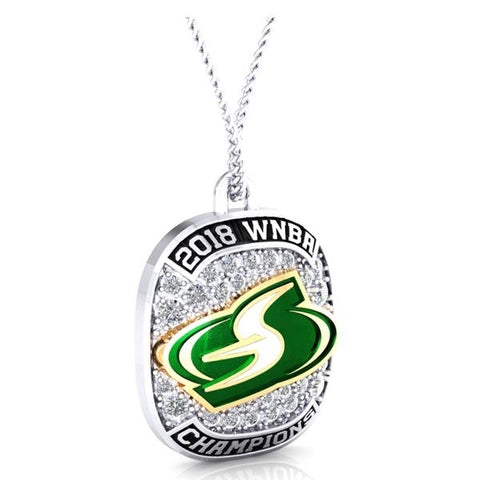 Seattle Storm Ring top Pendant - Design 1.3.D
