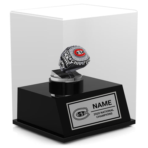 St. Cloud State Championship Display Case