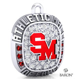 Staples-Motley Athletic Hall of Fame Ring Top Pendant - Design 1.28