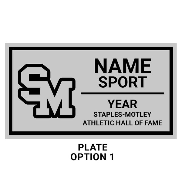 Staples-Motley Athletic Hall of Fame Championship Ring Box