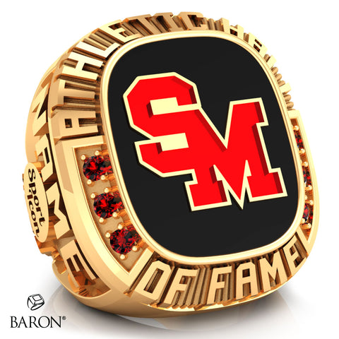 Staples-Motley Athletic Hall of Fame Ring - Design 1.23