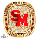 Staples-Motley Athletic Hall of Fame Ring - Design 1.24