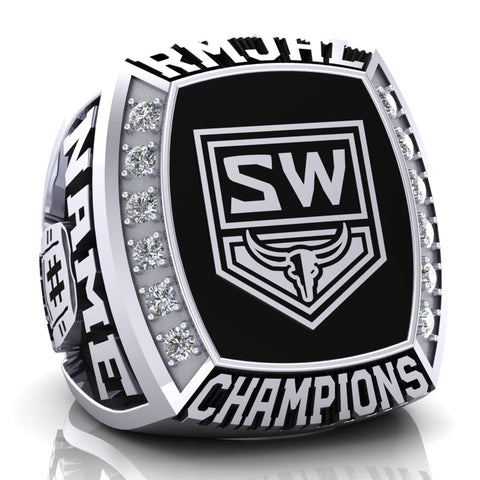 Steamboat Wranglers Ring - Design 1.2
