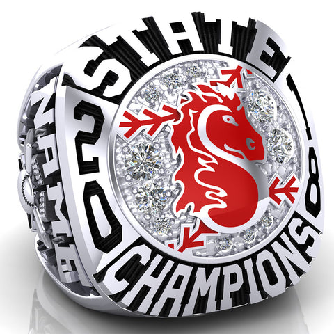 Stillwater Ponies Ring - Design 1.3