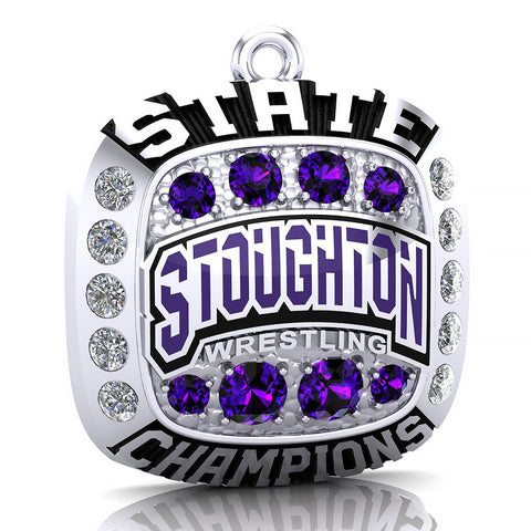 Stoughton Wrestling Pendant