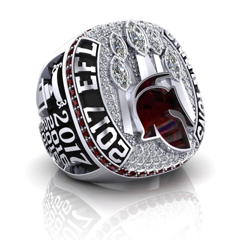 Taunton Gladiators 2017 EFL Championship Ring