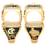 Texas Elite Tribe Football Championship Ring - Design 1.6