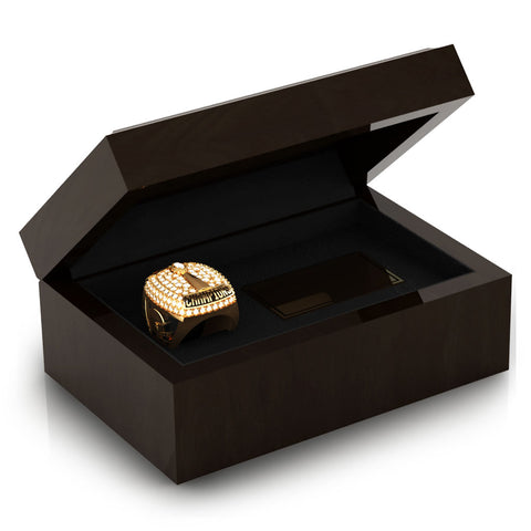 Texas Elite Tribe Football Championship Ring Box