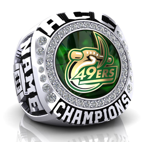 UNC Charlotte 49ers Ring - Design 1