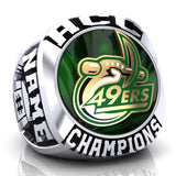 UNC Charlotte 49ers Ring - Design 2