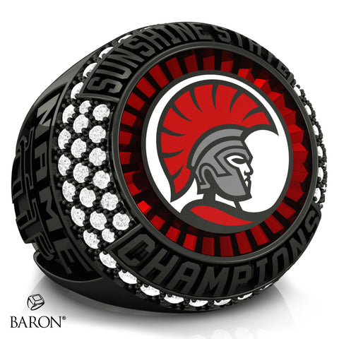 The University of Tampa Championship Ring - Design 3.1