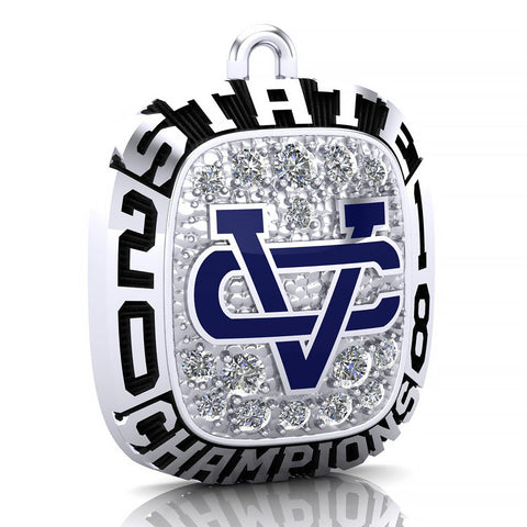 Vandebilt Catholic Ring Pendant - Design 1.2
