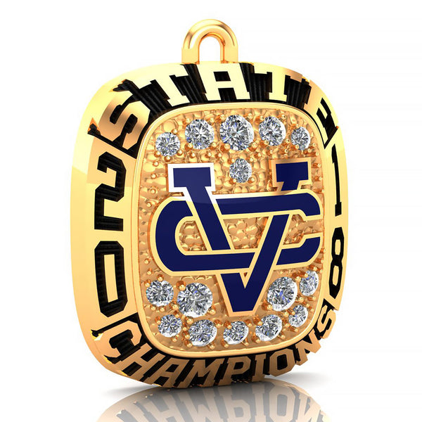 Vandebilt Catholic Ring Pendant - Design 1.4