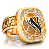 WBHOF Trailblazers of the Game Renown Ring - (Gold Durilium, 6KT Yellow Gold, 10KT Yellow  Gold, 14KT Yellow Gold) - Design 1.6