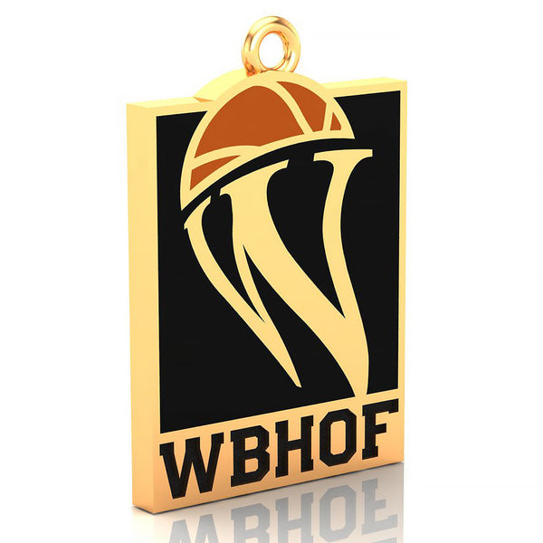 Womens Basketball Hall of Fame Pendant