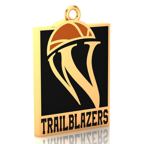 Womens Basketball Hall of Fame Trailblazer Pendant