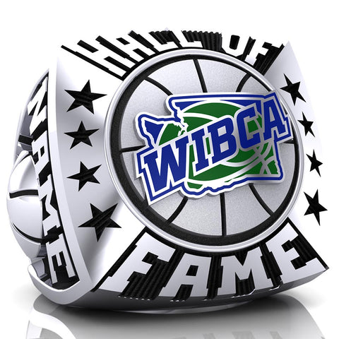 WIBCA - Hall of Fame Ring - Design 5.1