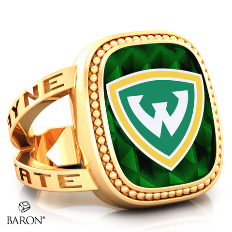 Wayne State University Renown Class Ring (Gold Durlium, 10kt Yellow Gold) - Design 5.2