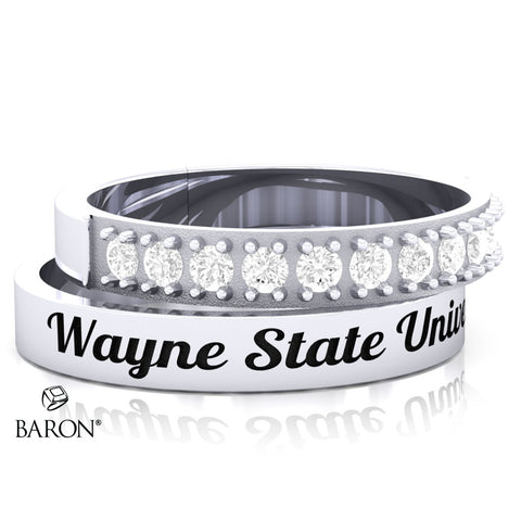 Wayne State University Stackable Class Ring Set - 3153