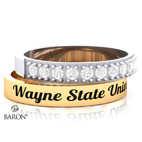 Wayne State University Stackable Class Ring Set - 3152