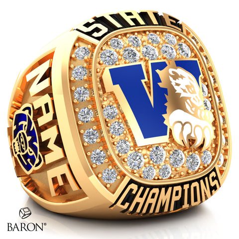 Westover High School Championship Ring - Design 2.4