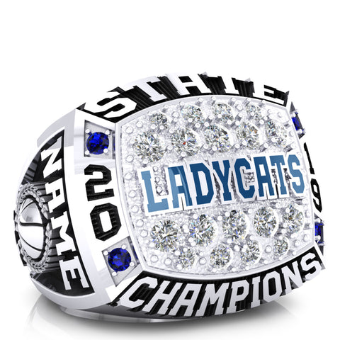 White Pine Lady Cats Ring - Design 3.1
