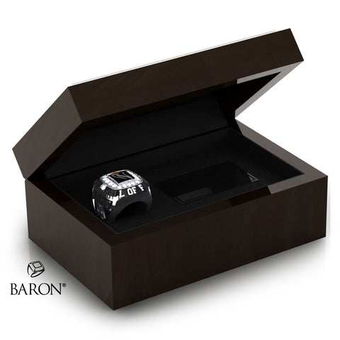 Womens Basketball Hall of Fame Ring Box