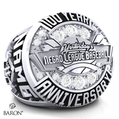 Negro League 100 Year Anniversary Ring - Design 1.1