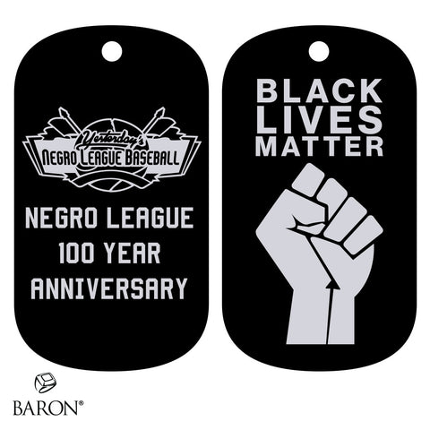 Negro League 100 Year Anniversary Dog Tag
