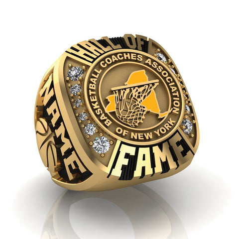 BCANY - Hall of Fame Ring (Gold Durilium) - Design 1