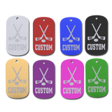 Championship Dog Tag - Hockey