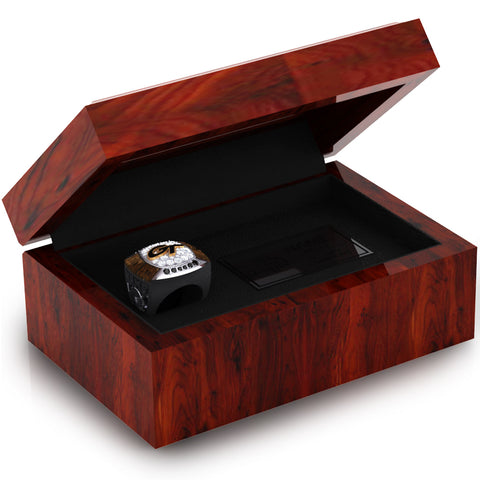 Geneva College Golden Tornadoes Ring Box