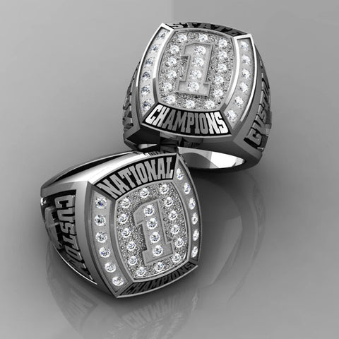 Championship Hockey Ring with Cubics