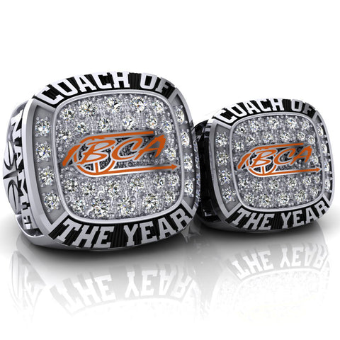 IBCA Iowa - Coach of the Year Ring